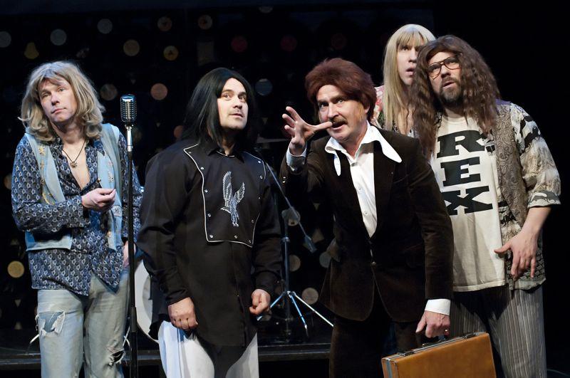 Bremeno muzikantai aktoriai